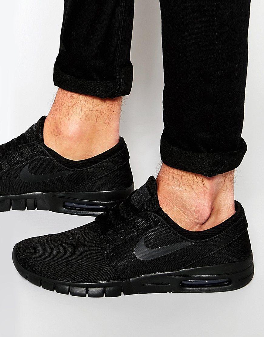 hot sales 6e3c5 ea5be Nike SB   Nike SB Stefan Janoski Max Trainers 631303-007 at ASOS
