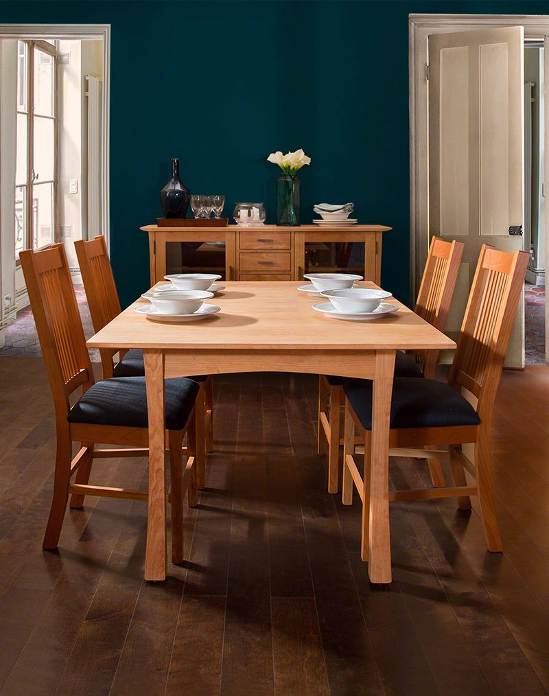 Contemporary Craftsman Dining Table Craftsman Dining Tables