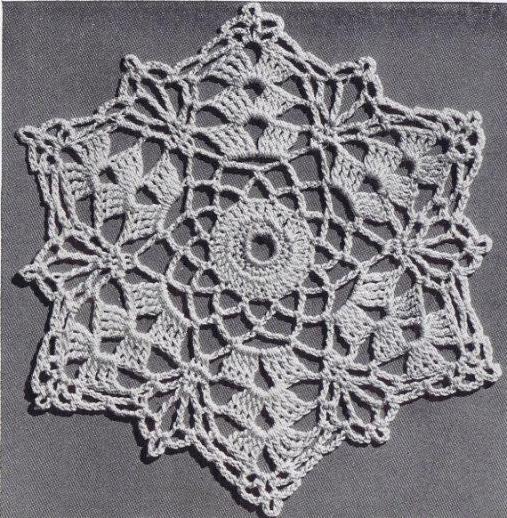 Vintage Crochet History 1941 Carpetas Pinterest Crochet