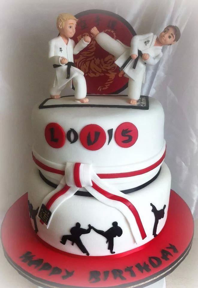 Cake Design Karate : Karate cake ? Pinteres?