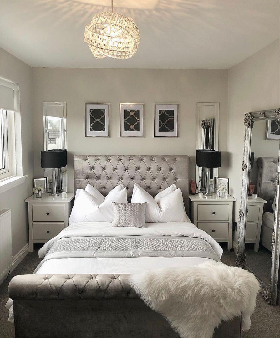 Missh2019 Missh2019 Instagram Photos And Videos White And Silver Bedroom Furniture White And Silver Bedroom Mirror Behind Nightstand