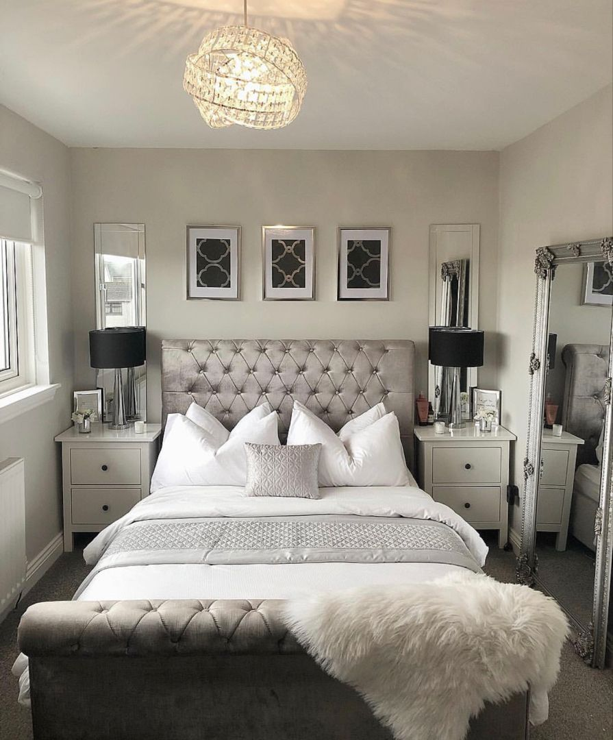 Master Bedroom Homedecor Interiordesign Chandelier