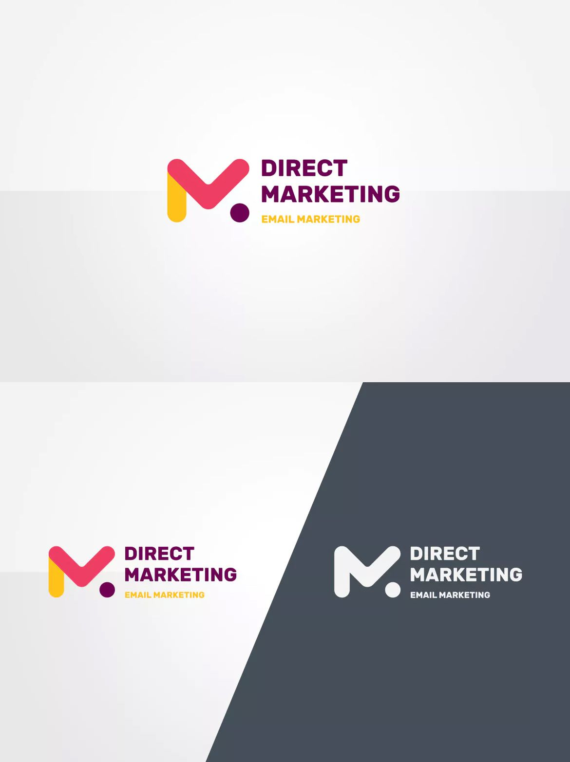 email marketing logo template ai eps psd デザイン pinterest