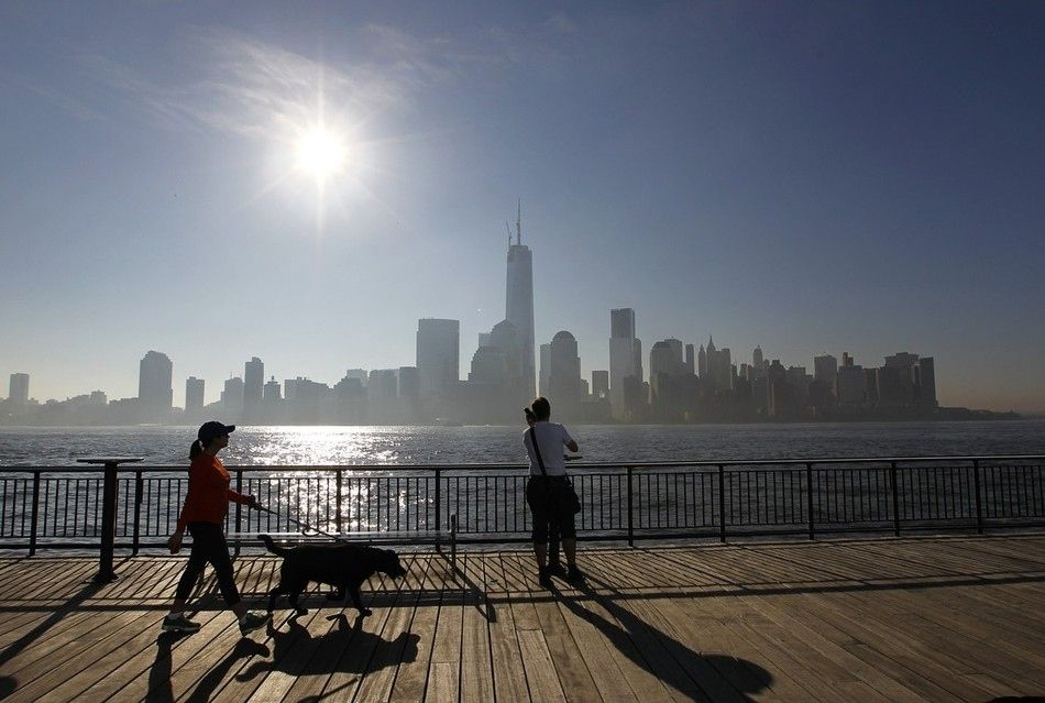 The World Trade Center Reaching 1,776 Feet