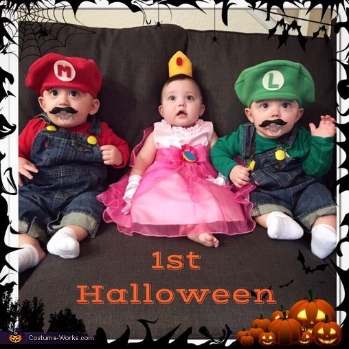 Mario Luigi and Princess Peach - Halloween Costume Contest at Costume -Works.com  sc 1 st  Pinterest & Mario Luigi and Princess Peach - Halloween Costume Contest at ...