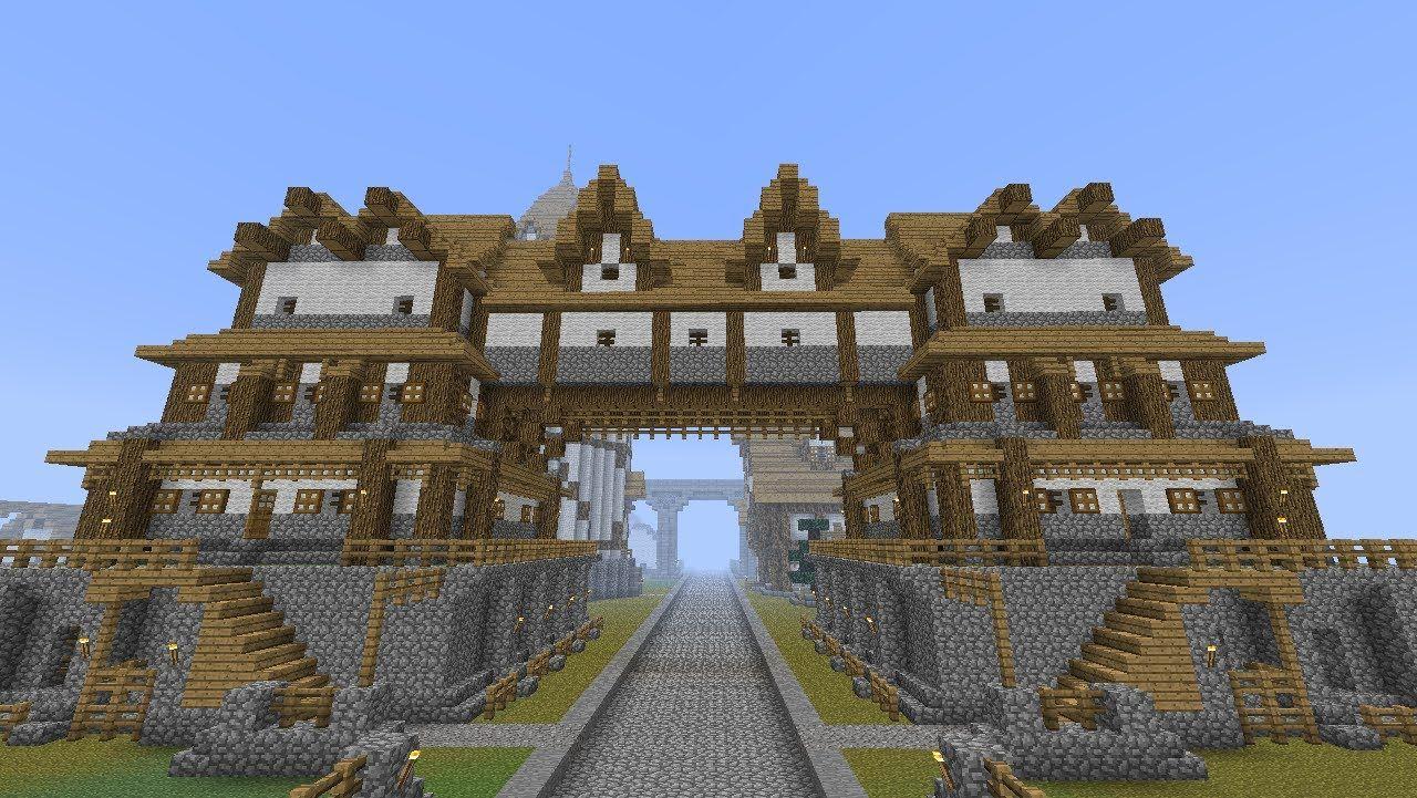 Minecraft Medieval Roads