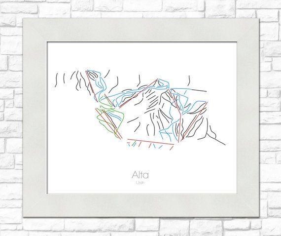 Alta Ski Map | Alta Utah | Modern Wall Art | Mountain Décor ... Map Of Alta Utah on map of mountain green utah, map of brighton utah, map of santa clara utah, map of genola utah, map of copperton utah, map of south weber utah, map of silver fork utah, map of west valley city utah, map of summit park utah, map of elk ridge utah, map of timber lakes utah, map of henefer utah, map of vineyard utah, map of little cottonwood canyon utah, map of snowbird utah, map of park city utah, map of draper utah, map of box elder county utah, map of millcreek utah, map of great salt lake utah,