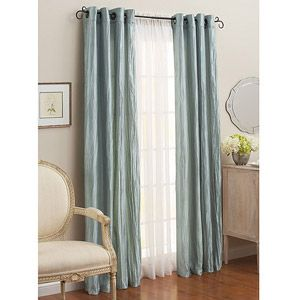 Better Homes And Gardens Crushed Taffeta Panel Set Of 2 Better