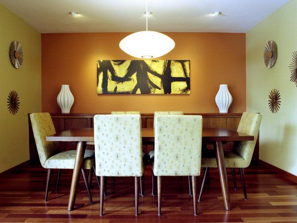 Mid Century Modern Dining Room Ideas, Designs, Photos, Pictures