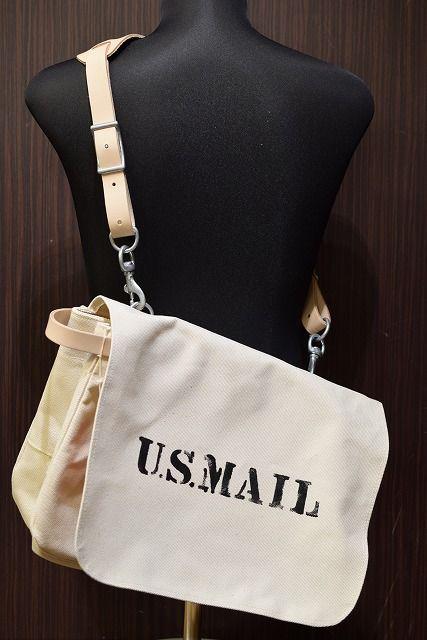 リアルマッコイズ Real Mccoys Ma17031 U S Mail Bag Bags Vintage Bags Chanel Deauville Tote Bag