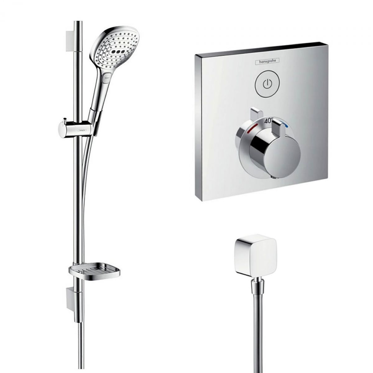 Hansgrohe Raindance Select System 2 Shower Kit In 2020 Shower