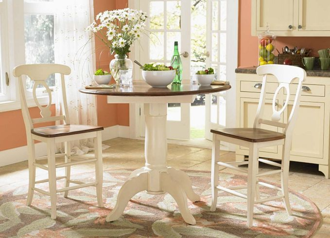 Dining kitchen furniture asheville gathering table for Dining room tables havertys