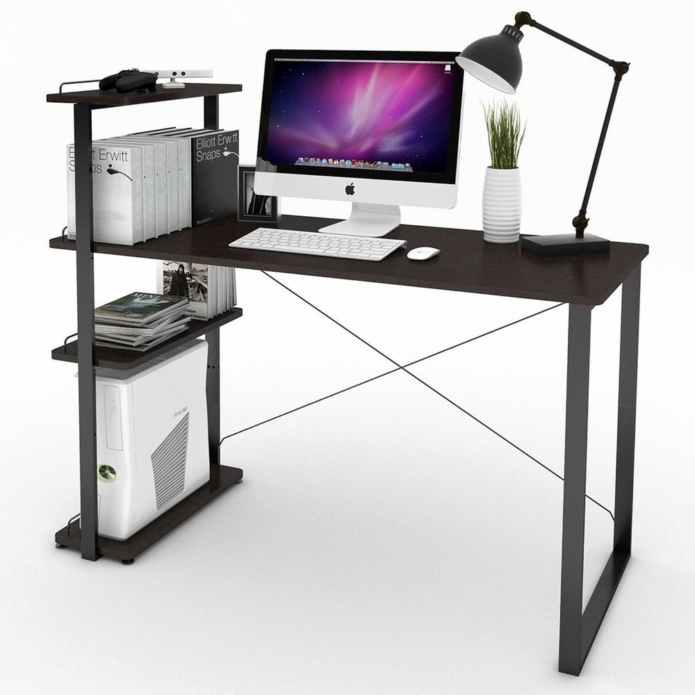 Computer Desk PC Laptop W/Bookshelf Home Office Workstation School Dorm  Student