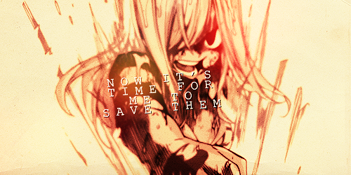 I can't lose. I just can't… until I save everyone…