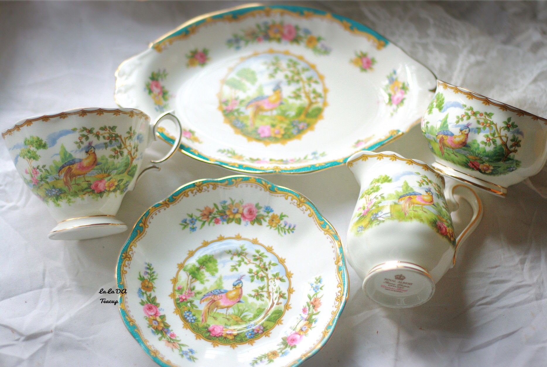 """Chelsea Bird""  Royal Albert"