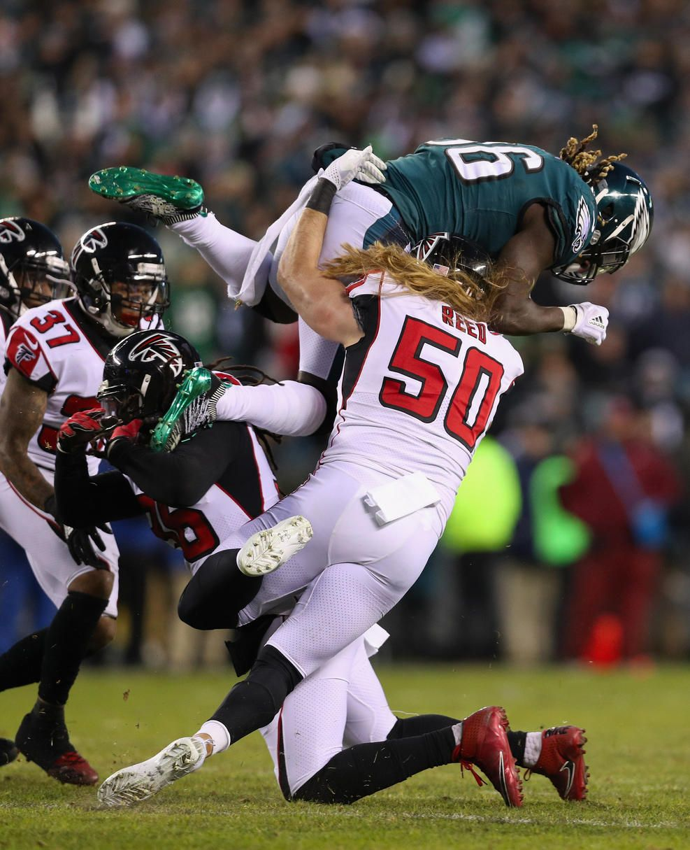 Eagles Soar Over Falcons in Divisional Playoff Round (With