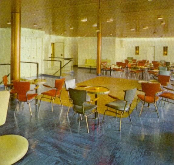How Big Was Ss Normandie Dining Room