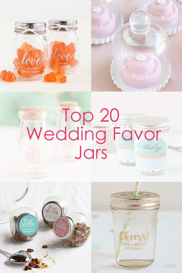 Find The Best Jars For Your Wedding Favors From Personalized Mason