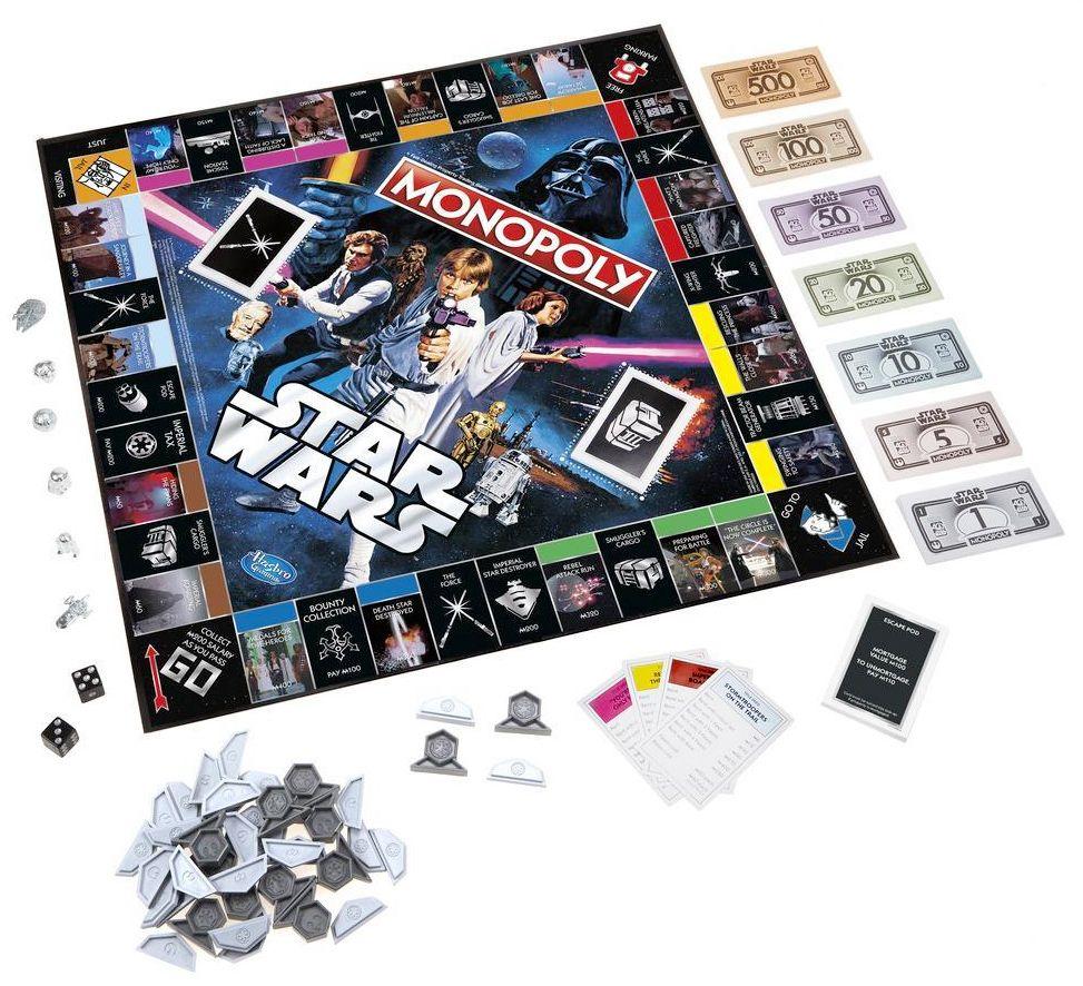 40 Anos De Star Wars Jogo Monopoly Da Hasbro Monopoly Jogos De Tabuleiro Jogos