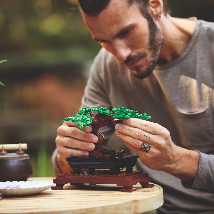 Lego Botanical Collection Bonsai Tree Embrace Your Calm Bonsai Tree Lego Bonsai