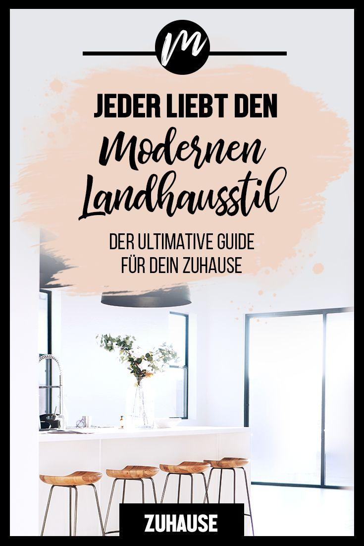 DER MODERNE LANDHAUSSTIL IST IN ALLER MUNDE.  #landhausstildekoration