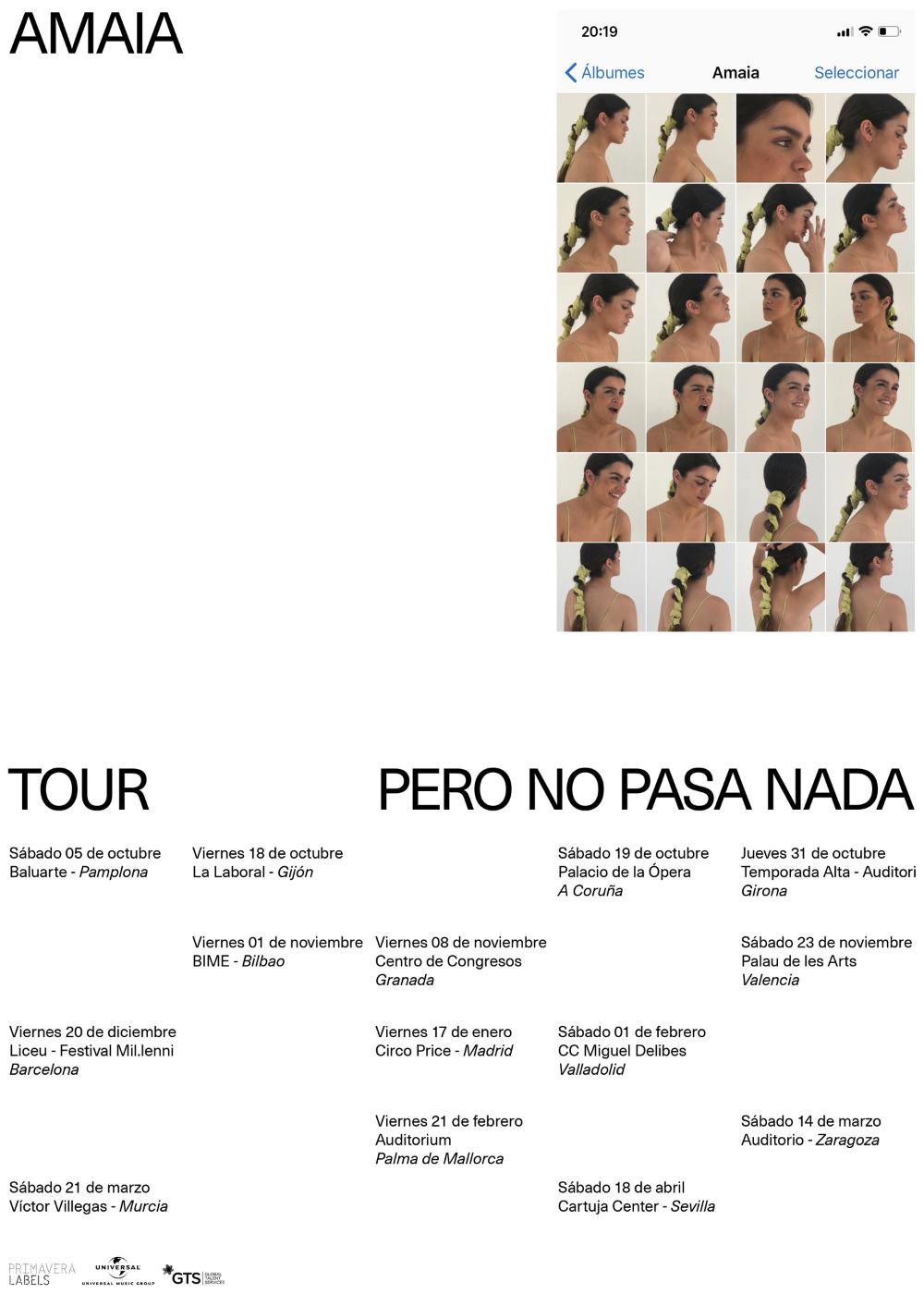 Querida Amaia Pero No Pasa Nada Editorial Design Card Book Visiting Cards