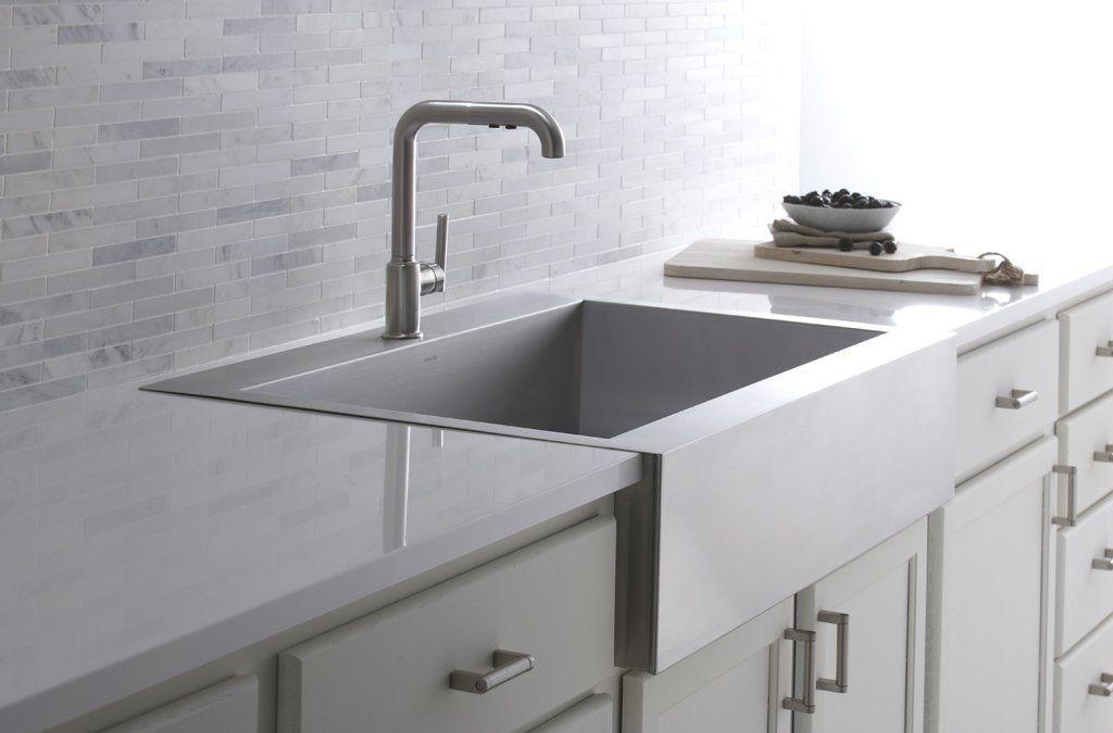 Vault Top-Mount Single-Bowl Stainless Steel Kitchen Sink ...