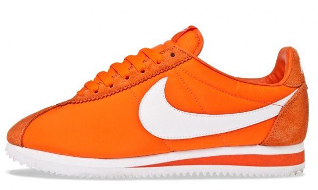 new product 405b2 1c6df Nike Cortez Classic Nylon - Safety Orange