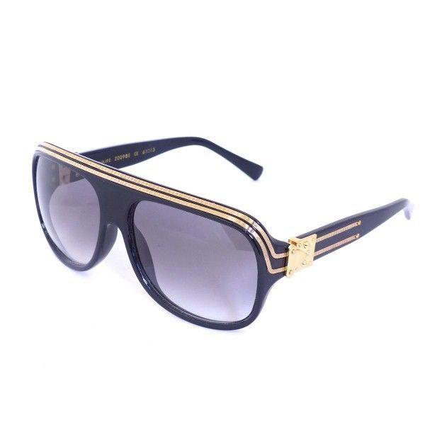 Louis Vuitton Lv Sonnenbrille Modell Millionaire Mit Etui Neu Monogram Hh380 Sunglasses Glasses Fashion