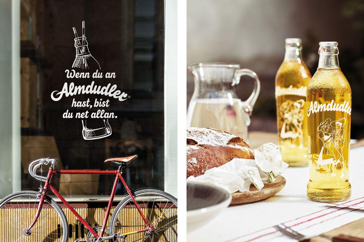 Almdudler - Branding, Publishing on Behance