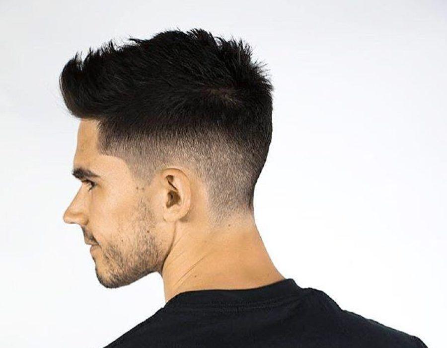 Menshairco Thick Hair Fade Men Hairstyle Pinterest Hair Hair
