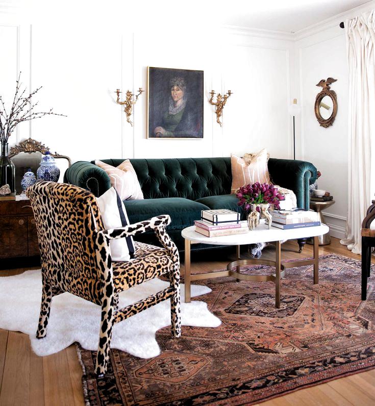Vorher & Nachher: Ein klassischer Glamour Living Room Reve ...