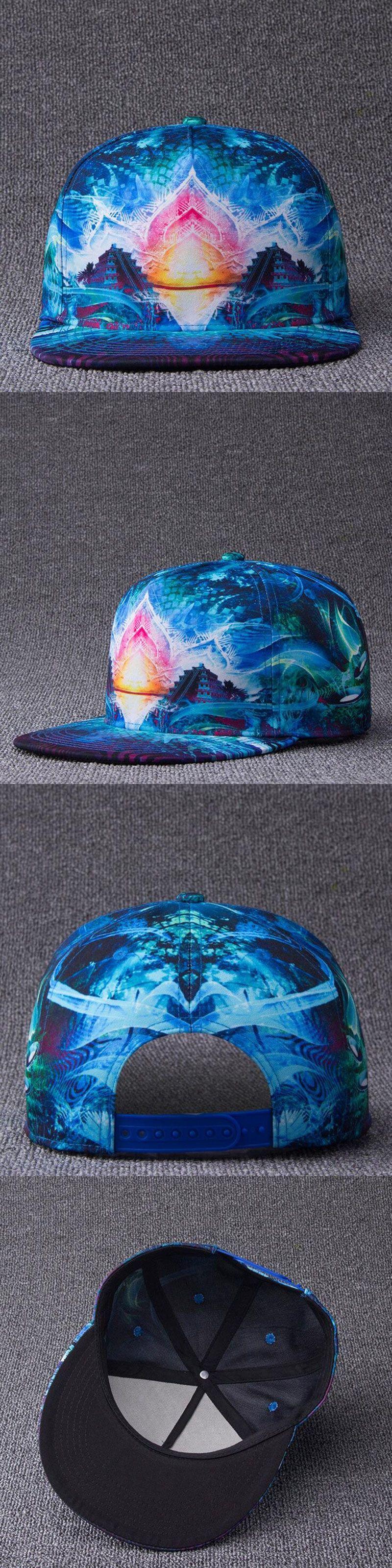 Snapback Gorras Hat Bon Flat Brimmed Men Baseball Cap Fashion 3D Print  Adjustable Hater Raiders women f4e3bd3dee8