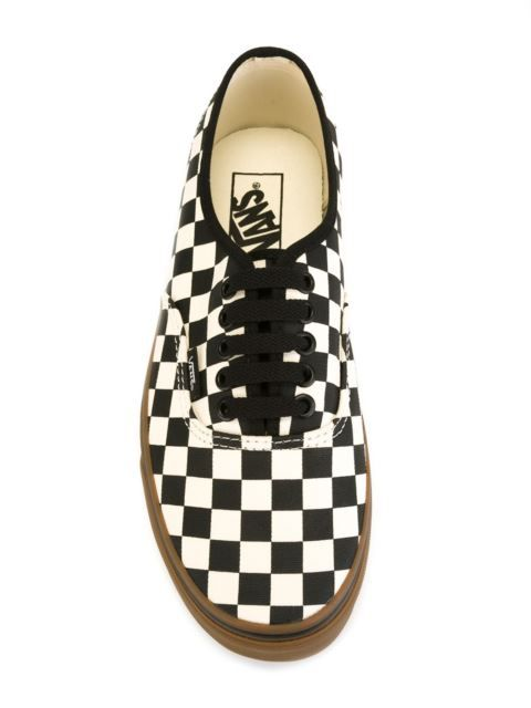 c990bb8db4f2 Shop Vans  Authentic Checkerboard  sneakers in Nugnes 1920 from the world s  best independent boutiques at farfetch.com. Shop 400 boutiques at one  address.
