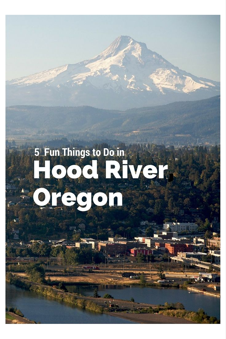 Map Of Oregon Mountain Ranges%0A   Fun Things to Do in Hood River Oregon