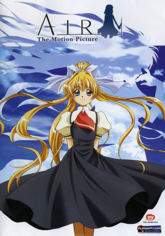 Air (2005) Anime, Anime movies, Animated movies