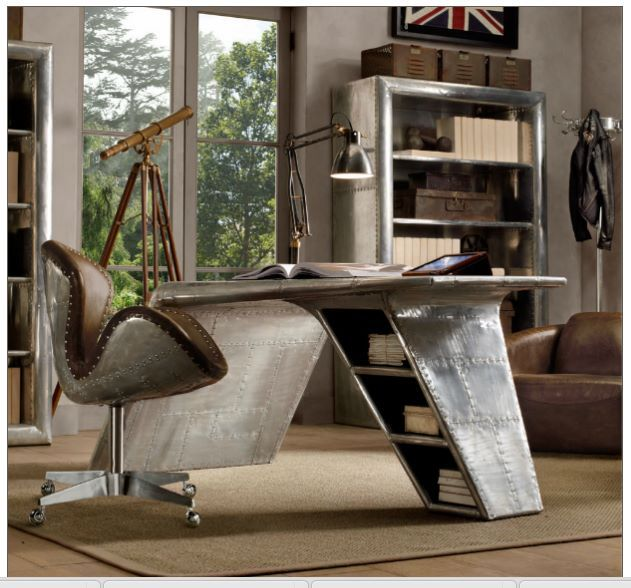 made from aeroplane parts inside and out pinterest lounge