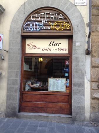 Osteria Il Gatto E La Volpe Le Restaurant Tuscan Typography