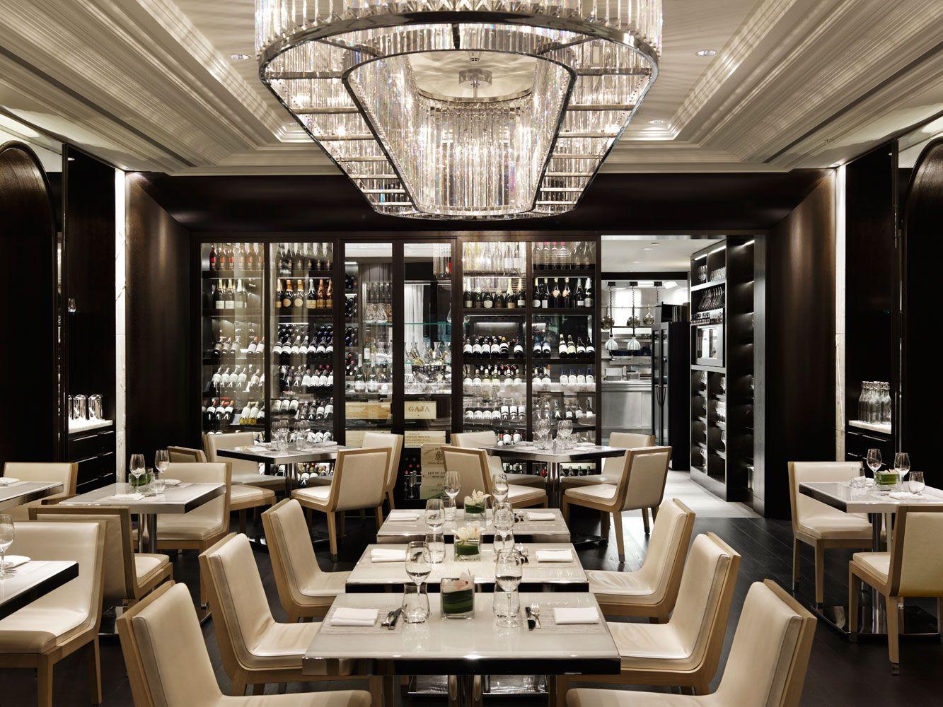 Hawksworth restaurant vancouver bc canada interior