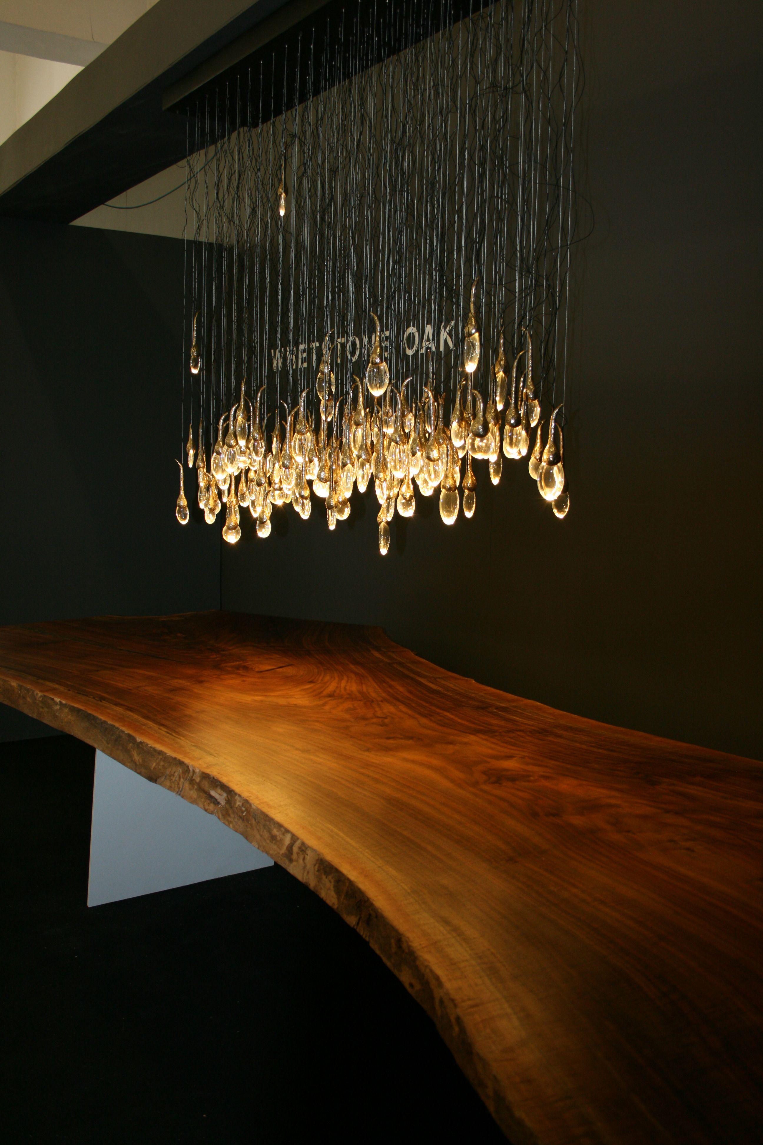 Ochre lighting, Whetstone oak table - Tent London ...