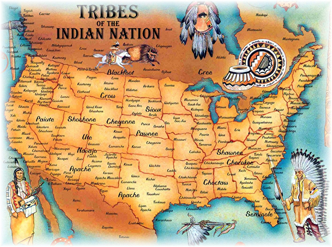 Best Images About AHG Badge Native American On Pinterest - Map of native american tribes in arizona