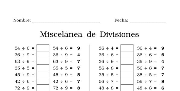 Ejercicios de División | división | Pinterest | Ejercicios
