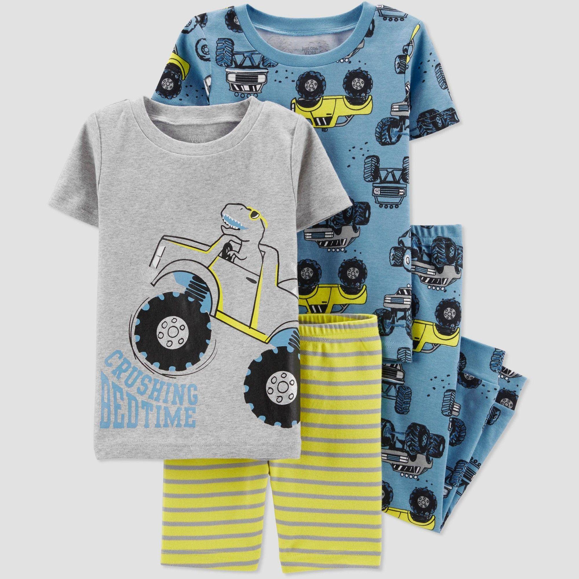MOMBEBE COSLAND Baby and Kid Girls Cotton Pajamas Set