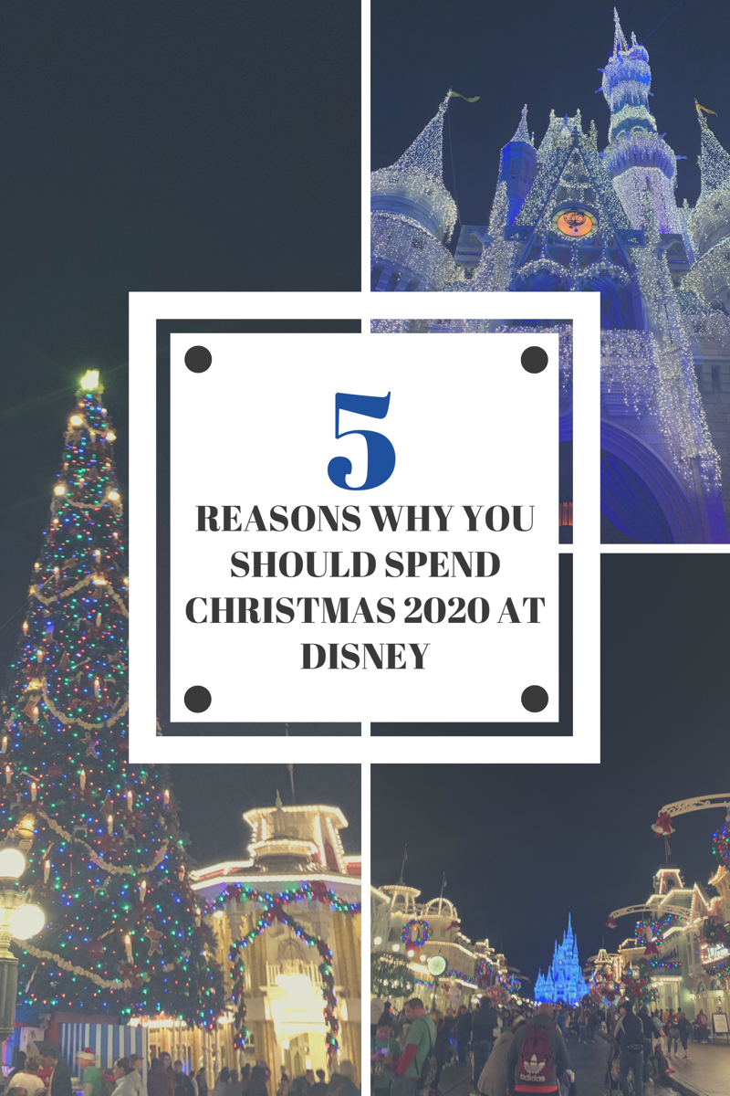 Reasons To Spend Christmas At Disney Christmas Travel Florida Vacation Spots Trip Planning