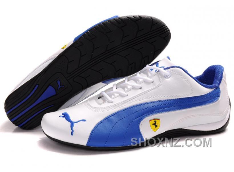 Men's Puma Ferrari In White/Blue/Black Price: - Air Jordan Shoes, New  Jordan Shoes, Michael Jordan Shoes