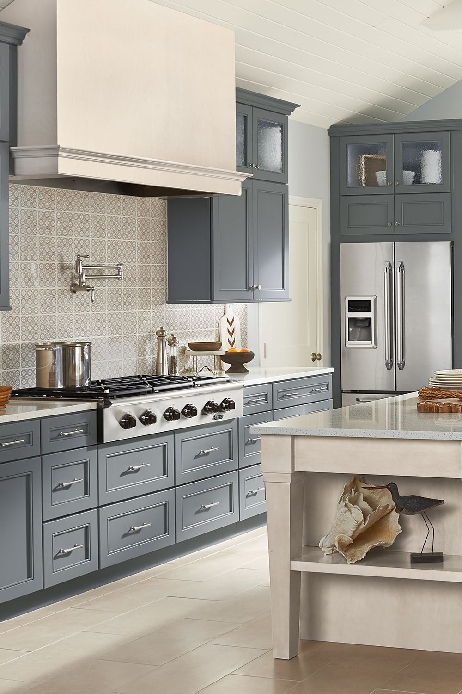 Seaside Vibes Home Decor Kitchen Beautiful Kitchen Designs Kraftmaid Kitchens