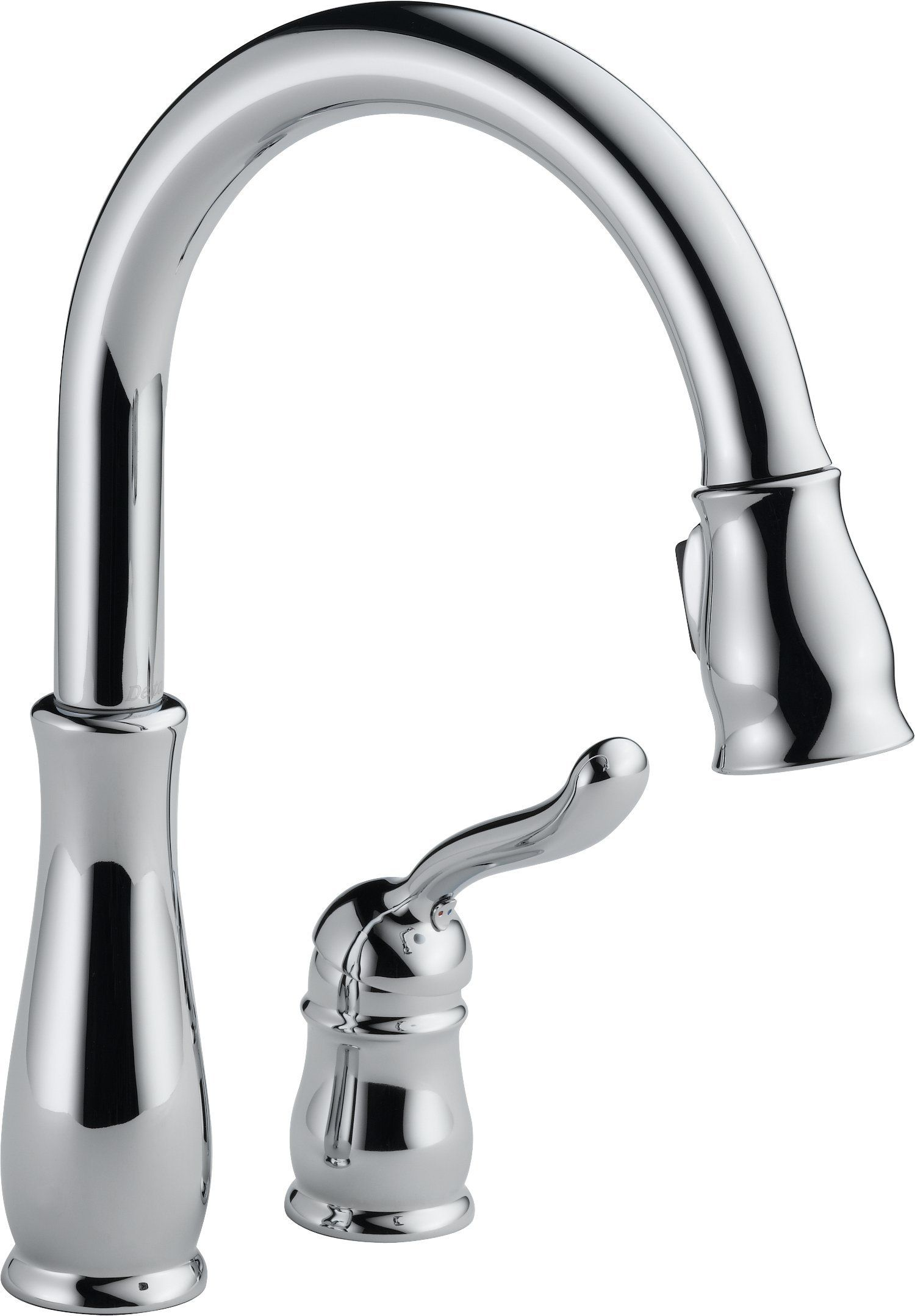Delta 978-DST Leland Single-Handle Pull-Down Kitchen Faucet with ...