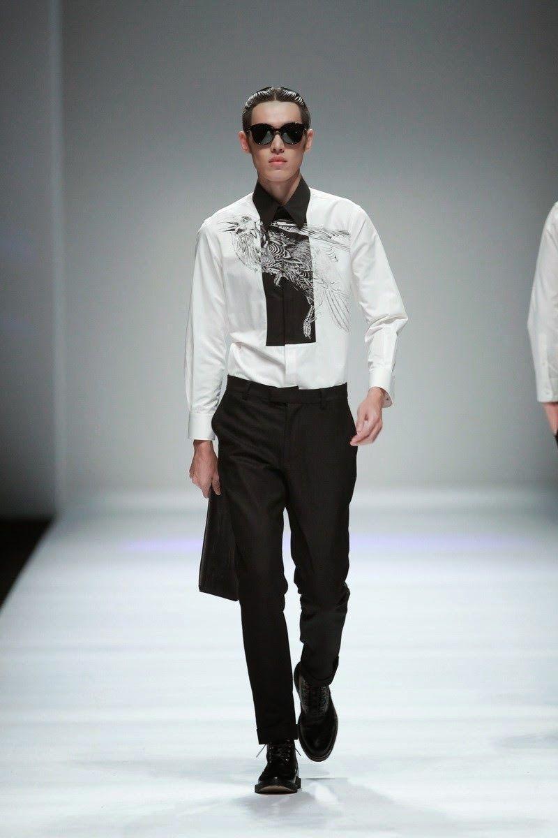 Jonny Fu Spring/Summer 2015 - Shanghai Fashion Week