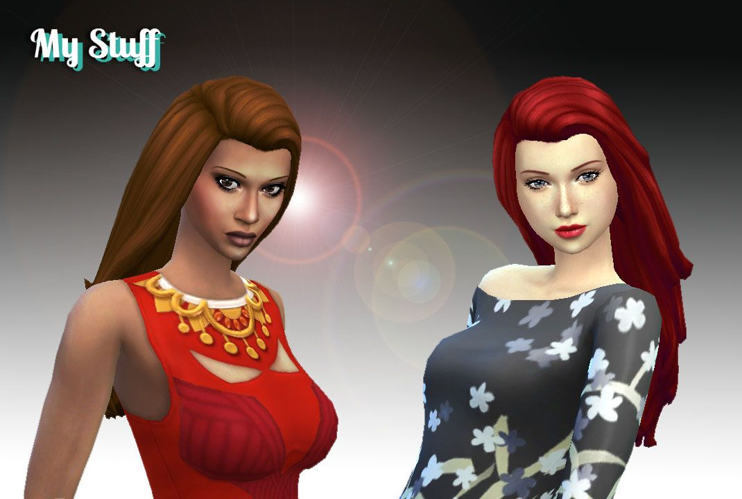 New Hair Sims 4 Style Available In Default Textures From Teen