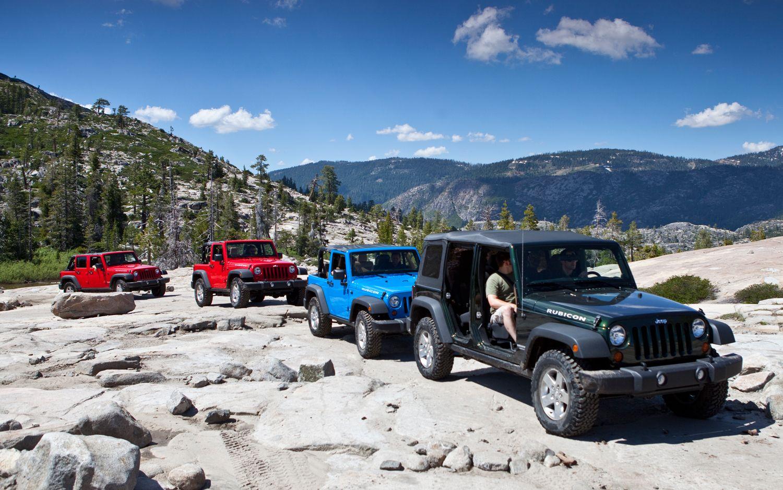 2017 Jeep Wrangler Line Up